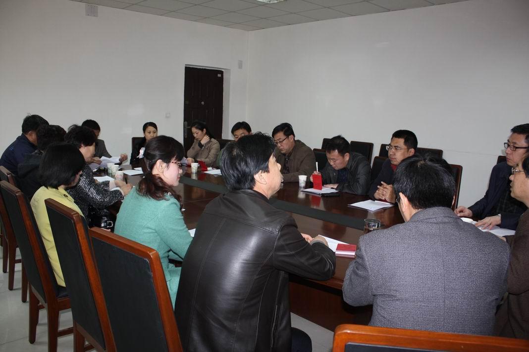 会上,赵林明主委对各位委员的当选表示祝贺.